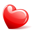 Red glossy heart vector | Price: 1 Credit (USD $1)