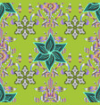 vintage retro style seamless pattern with vector image vector image