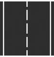 Asphalt Road vector image vector image