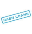 Cash Loans Rubber Stamp vector image vector image