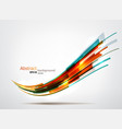 dynamic background vector image vector image