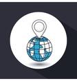 global position design vector image