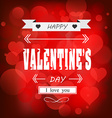 happy valentines day cards background vector image