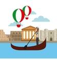 italian culture holidays icon vector image vector image