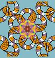 magic blue yellow and black holiday abstract vector image