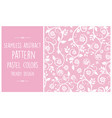 Seamless abstract pattern trendy pastel