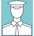 Serviceman vector image vector image
