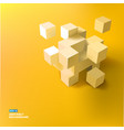 abstract geometric template vector image vector image