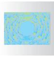 creative concept meta blue yellow lilach scheme vector image