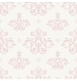Damask Seamless Pink Pattern vector image
