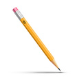 Detailed pencil vector image vector image
