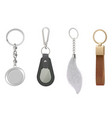 key chain accessories for phone bag purse wear vector image