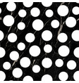 marble luxury polka dot seamless pattern vector image