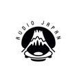 concept of japan sound music vector image