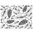 hand drawn wallpaper of loganberry on white backgr vector image vector image