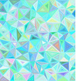 Light irregular triangle mosaic tile background vector image vector image