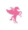 unicorn horse icon design template vector image