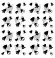 School Bell Seamless Pattern vector image vector image