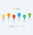 timeline infographic design 6 options