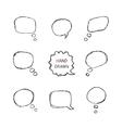 Speech Bubbles Part II vector image