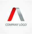 company modern logo vector image