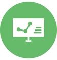 Computer Analytics vector image vector image