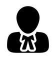 counceling icon male user person profile avatar vector image