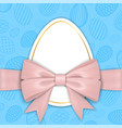 happy easter background pastel textured eggs vector image vector image