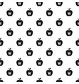 king apple pattern seamless vector image vector image