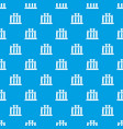 medical test tubes pattern seamless blue vector image vector image