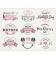 Mothers Day Badges and Labels Design vector image vector image