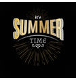 Summer time badges logos and labels for any use vector image vector image