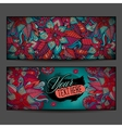 Abstract decorative floral ornamental backgrounds vector image vector image