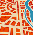Background of city map vector image vector image