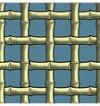 Bamboo seamless wallpaper vector image vector image