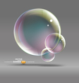 bubble graphic vector image vector image
