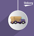 Delivery design vector image vector image