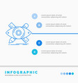 design designer sketch tools infographics vector image
