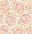 floral background vector image