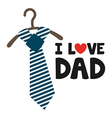 happy fathers day vector image vector image