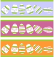 Holiday gift egg in color 12 vector image vector image