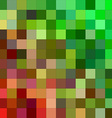 Pixelated Blurred Mosaic Background vector image vector image