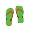 sandals vector image