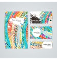 Set of design templates Brochures in vector image vector image