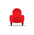 Single Cinema Seat vector image vector image