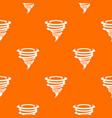 tornado pattern seamless vector image vector image