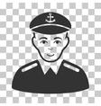 Captain Icon vector image vector image