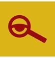 eyesight check vector image vector image