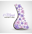 Female Body Postcard vector image vector image