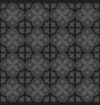 gray royal pattern the seamless background vector image